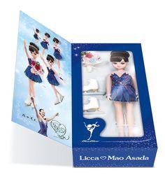 浅田真央が衣装を監修…切手付き「リカちゃん人形セット」 3/22より発売