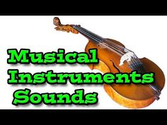 Musical Instruments Sounds | Kids Learning Video - YouTube