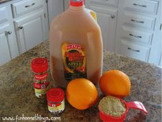 Fun Home Things: Easy Crock Pot Spiced Apple Cider