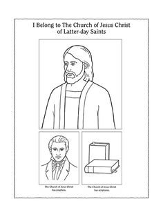 2000 stripling warriors coloring pages | A black-and-white illustration of Samuel the Lamanite ...