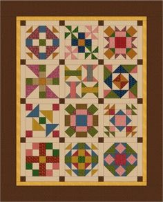 Bees Knees Quilt Kit - 19th Century Colorway