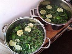 Mátová šťáva | recept na sirup Palak Paneer, Food And Drink, Ethnic Recipes, Syrup
