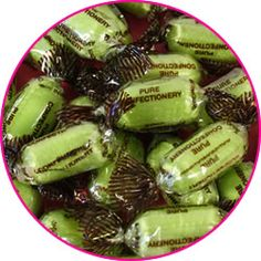 Chocolate limes. My very first day at school I was sat crying on a bench. A little boy came up to me and gave me one of these to cheer me up. It was 1967 I have never forgotten him or the sweet.