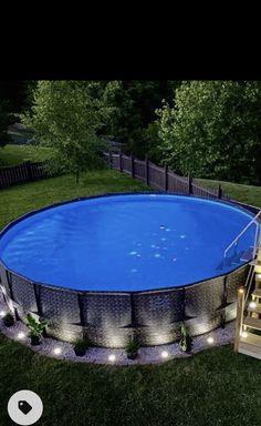 Backyard Pool Designs, Backyard Play, Swimming Pools Backyard, Backyard Retreat, Pool Decks, Garden Pool, Pool Landscaping, Redneck Pool, Pool Deck Plans