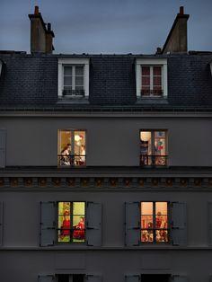 Vis-à-vis, Paris de Gail Albert Halaban http://www.gailalberthalaban.com/
