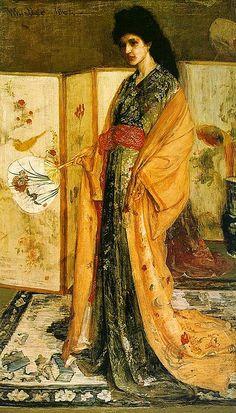 Whistler, La Princesse du Pays de la Porcelaine