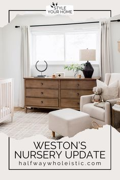 Visit here to see this nursery for a boy on Halfway Wholeistic! If you are looking for boy nursery ideas, then this is the blog post for you. Get inspired by this nursery idea with a neutral color palette. There is nothing more chic than nursery ideas that are neutral gray and white. You will love this baby boy nursery room idea and themed color scheme. Be sure to buy neutral paint colors for a gender neutral nursery decor that is also calming for the baby. #nursery #home #decor Neutral Nursery Colors, Bedroom Colors, Diy Bedroom Decor, Neutral Paint, Bedroom Inspo, Nursery Room, Nursery Ideas, Nursery Decor, Princess Room