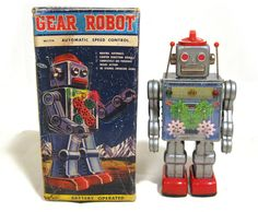 SH Gear Robot 60s/ebay