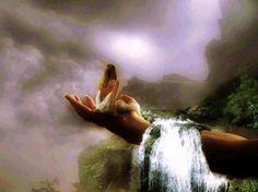 Isten a tenyerén hordoz