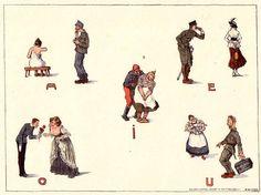 Aus der Lithographien-Mappe: Ernstes und Heiteres aus dem Weltkrieg Poster, Serene Silhouettes, World War I, Postcards, Sketches, Movie Posters