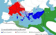 Histoire 5e > Byzance et l'Europe carolingienne | Histoire- Géographie- EMC | Scoop.it