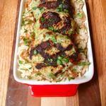 Grilled Turkey Kafta Patties