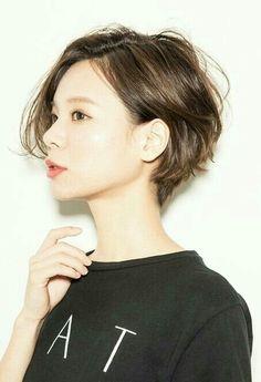 #단발머리 #숏헤어 #short #shorthair #cut #shortcut #hairstyle