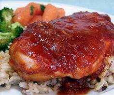 Weight Watchers Teriyaki Sticky Chicken: 4 servings; 4 pts. per serving