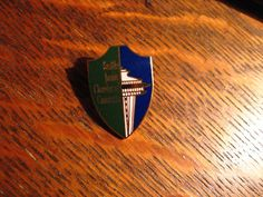 Seattle Junior Chamber of Commerce Lapel Pin - Washington USA Space Needle Pin