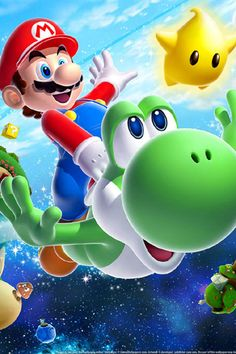 Single Toggle Wall Switch Cover Plate Decor Wallplate - Super Mario Galaxy Yoshi >>> For more information, visit image link. (This is an affiliate link) Galaxy Wallpaper, Hd Wallpaper Android, Iphone Wallpapers, Super Mario Bros, Super Smash Bros, Mario Galaxy 2, Mario Switch, Gi Joe, Mario Y Luigi