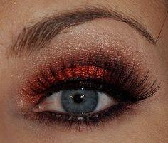 Birthstone Series - Garnet Makeup