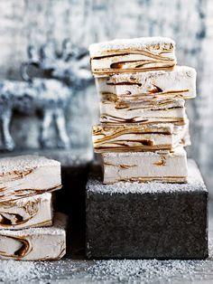 caramel swirl marshmallows from donna hay