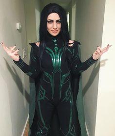 New Thor:Ragnarok The Goddess of Death Hela Cosplay Costume Thor Costume, Thor Cosplay, Epic Cosplay, Cosplay Diy, Cosplay Girls, Female Cosplay, Awesome Cosplay, Cool Costumes, Costumes For Women