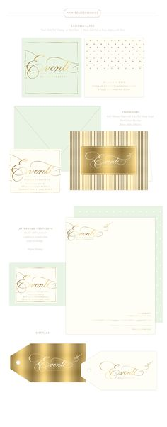 Branding Design for Eventi by Diana Venditto |  www.EmilyMcCarthy.com | Logo, Wedding Planning and Design, Luxury Printing