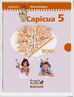 """Actividades digitales de Matemáticas complementarias a los libros de texto """"Capicúa"""" de 5º Nivel de Educación Primaria de Ediciones Bromera."""