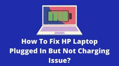 I know it is an extremely terrible situation when your HP laptop plugged in but not charging. As it simply means, you cannot use your laptop without unplugging your charger. So the question is, how ... Read moreHP Laptop Plugged In Not Charging: 4 Easy Methods To Fix</ Laptop Store, Battery Icon, Power Button, Power Cable, Maze, Plugs, Charger, Reading, Corks