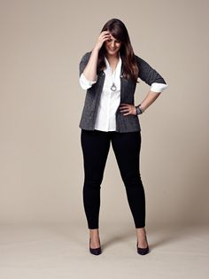 Perfect outfit for work, no high heels, maybe flats