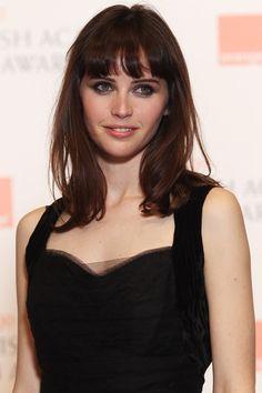 felicity jones at Orange British Academy Film Awards