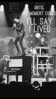 "How the heck did Ryan get on top of the piano??? By the way, I love this song-""I Lived"" ❤️"