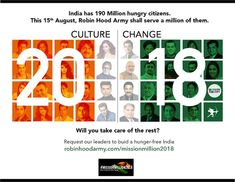 – Building a Hunger-Free India This Independence Day