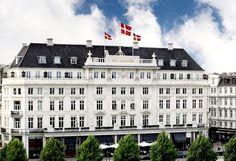 """D'Angleterre in #Copenhagen now on Condé Nast Travelers """"hot list"""""""