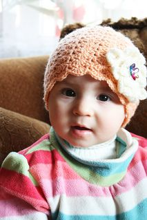 Ravelry: Little Sister pattern by Linda Permann Crochet Kids Hats, Crochet Girls, Cute Crochet, Crochet Baby, Crochet Scarfs, Crochet Ideas, Crochet Projects, Mens Crochet Beanie, Beginner Crochet Tutorial