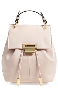 Ivanka Trump 'Mini Turner' Leather Backpack available at #Nordstrom