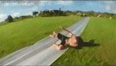 slip n slide Eddie