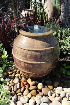 Water feature found at Roger's Gardens, Corona del Mar