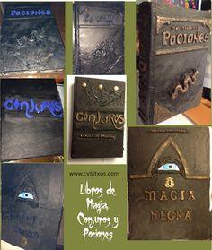 DIY libros de magia y conjuros - DIY Magic and Spell Books