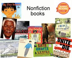 This week, we're sharing great nonfiction titles. Don't forget, there's still time to log your minutes for the #SummerReading Challenge, so keep reading! http://bit.ly/14SRC