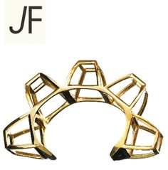 Jennifer Fisher's Brass Hollow Box Cuff from The Coveteur's #BejewledGiveaway. Guess what? It can be YOURS, kids... FOR FREE! Enter to win: http://www.thecoveteur.com/jennifer_fisher_contest