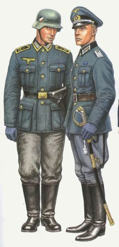 Kriegsmarine coastal artillery uniforms WWII, pin by Paolo Marzioli Ww2 Uniforms, German Uniforms, Military Uniforms, German Soldiers Ww2, German Army, Military Art, Military History, Diorama, Military Drawings