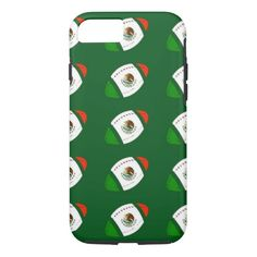 Flag of Mexico FootBall iPhone 7 Case