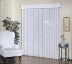 Vertical blinds and sheers
