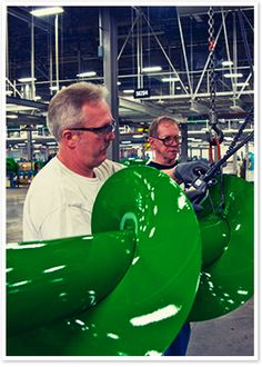 JohnDeere Harvester Works - must be 13 years & up, see how combines are made