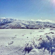 Monte Spada (Fonni, NU) innevato.  Foto di Alessandro Magari  #sardinia #snow #fonni
