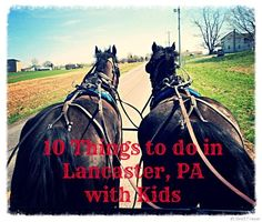 10 Things to do in Lancaster, PA with Kids. From buggy rides to Amish feasts -- perfect for planning a weekend in Pennsylvania Dutch Country.