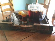 Pallet Serving Tray/Centerpiece Pallet Decor by DuffsDecorAndMore