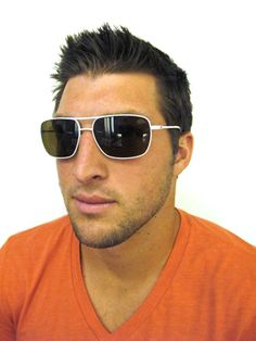 a0f8433f38e Tim Tebow is keepin  the faith while wearing Nike Vintage MDL 83 from  Marchon Eyewear
