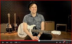 THIS VIDEO IS THE BEST BC IT SHOWS OFF THE STUMP-O-MATIC GUITAR AND PATRICK LOOKS THIS CUTE SO ITS A WIN-WIN VIDEO
