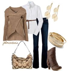 Neutral Browns - Polyvore