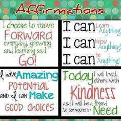 affirmations for mothers | Positive Affirmations for 2014 | Kindness Blog