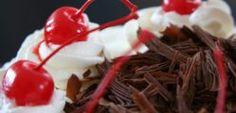 pastel selva negra receta Listerine, Muffin, Eggs, Pudding, Cupcakes, Breakfast, Desserts, Chocolate Blanco, Chocolates